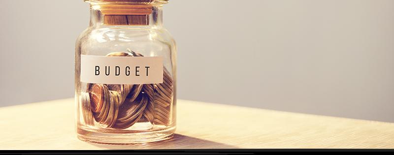 coin jar representing a VDI budget